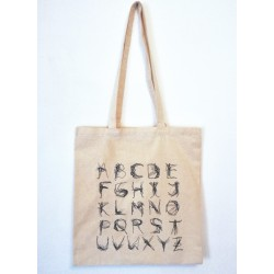 TOTE BAG  DEAD ABC